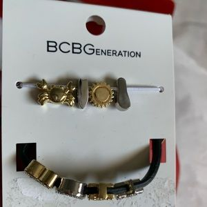 BCBG Generation Beach Charm Bracelet NWT